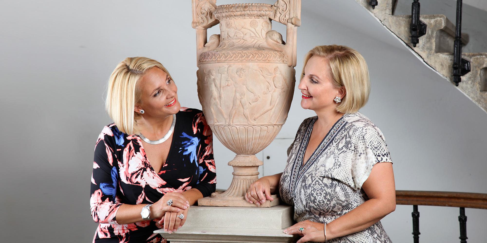 Anne Marie und Susanne Kosesnik-Wehrle